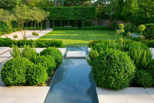 ... Awards Went To Charlotte Rowe MSGD For A Contemporary Garden In  Wimbledon U2013 Best Medium Residential Garden And Awards For Hardscape And  Lighting Design.