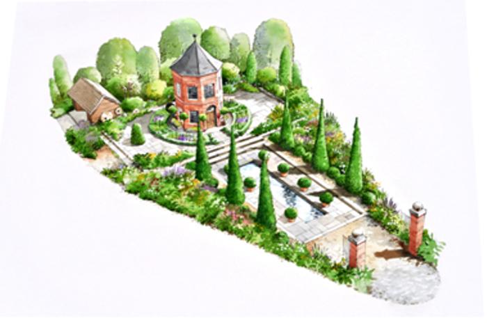 Diarmuid gavin designs harrods garden for chelsea 2016 for Garden design tv show