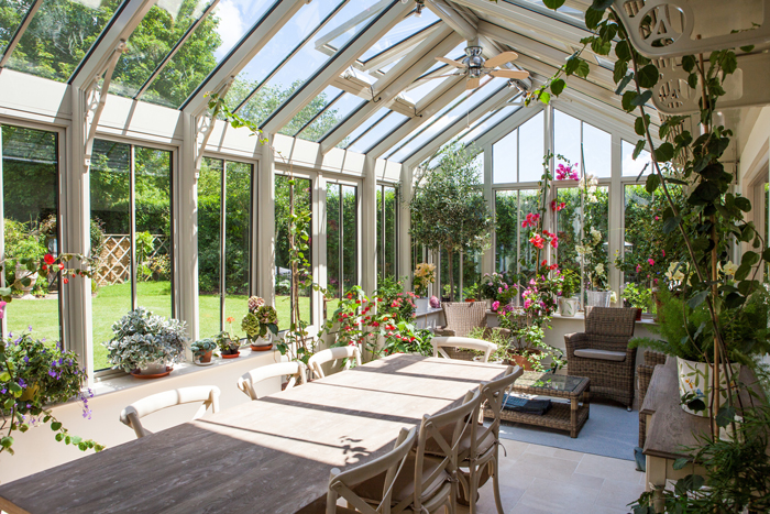 Aluminium For Conservatories And Greenhouses